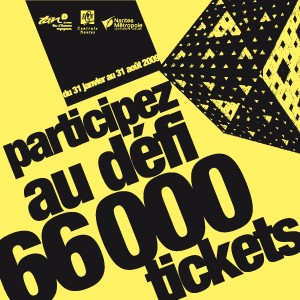 Logo défi 66 000 tickets